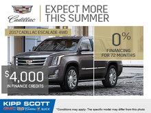 2017 Cadillac Escalade 4WD!
