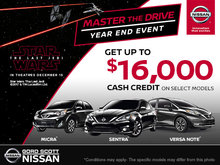 Nissan Year End Event