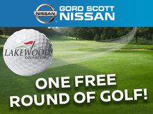 Get a Free Round of Golf!