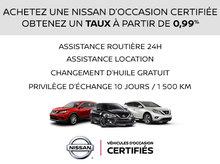 Véhicules d'occasion Certifiés Nissan