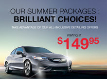 PLUS and Deluxe Summer Packages