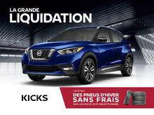 Nissan Kicks en promotion à Montréal