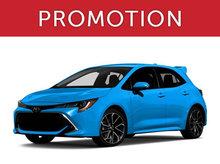 Toyota Corolla Hatchback Neuf en Promotion à Montréal