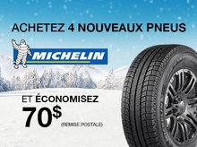 Promotion Pneus Michelin