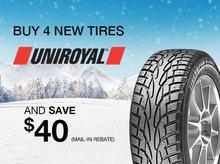 Uniroyal Tires Promotion
