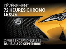 L'Événement 72 heures Chrono Lexus