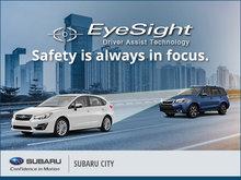 EyeSight Driver Assist Technology at Subaru City
