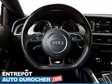 2014 Audi A5 Progressiv 4X4 NAVIGATION - Toit Ouvrant - A/C - Cuir - Sièges Chauffants