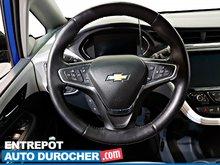 2017 Chevrolet Bolt EV Premier Automatique - AIR CLIMATISÉ - Caméra de Recul - Sièges Chauffants - Volant Chauffant
