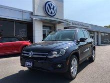 2016 Volkswagen Tiguan Comfortline 2.0T 6sp at w/Tip 4M