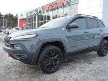 2015 Jeep Cherokee Trailhawk 4X4 CUIR NAVIGATION SIÈGES CHAUFFANTS