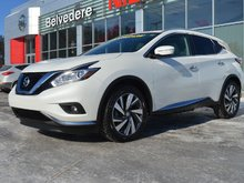 Nissan Murano PLATINUM TOIT PANORAMIQUE CUIR NAVIGATION 2015