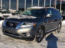 2016 Nissan Pathfinder PLATINUM  BANC VENTILE VOLANT CHAUFFANT