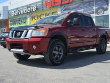 2015 Nissan Titan PRO-4X  CREW CAB  4X4  NAVIGATION
