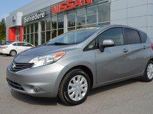 Nissan Versa Note SV MANUELLE A/C CAMERA RECUL BLUETOOTH 2014