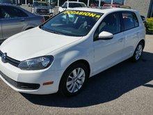 Volkswagen Golf COMFORTLINE TOIT OUVRANT MANUEL 2012