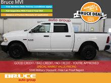 2014 Dodge RAM 1500 ST Tradesman 3.0L 6 CYL ECODIESEL 4X4 CREW CAB