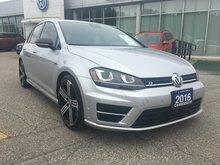 2016 Volkswagen Golf R 4Motion DSG