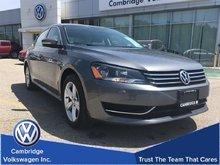 2014 Volkswagen Passat Comfortline 1.8T