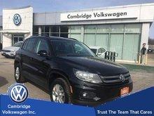 2014 Volkswagen Tiguan Trendline With Convenience Pkg Rare Manual Transmission