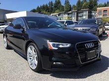 2015 Audi A5 2.0T Progressiv quattro 8sp Tiptronic Cpe