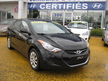 Hyundai Elantra GL **Jamais accidenté** 2012 tout équipé
