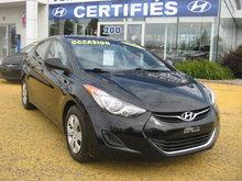 Hyundai Elantra L MANUEL 6 VIT **Jamais accidenté** 2013 Vitres électriques