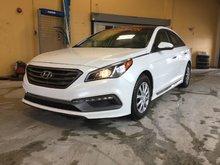 Hyundai Sonata **RÉSERVÉ**, SPORT, CUIR, MAGS, CAMERA, A/C BIZONE 2015 JAMAIS ACCIDENTÉ, UN SEUL PROPRIÉTAIRE