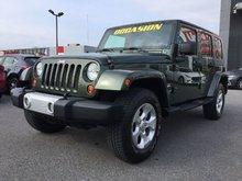 Jeep Wrangler Unlimited **RÉSERVÉ**, RSahara UNLIMITED, TOIT RIGIDE ET MOU 2009 JAMAIS ACCIDENTÉ