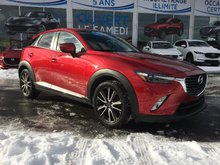 Mazda CX-3 GT, AWD, CUIR, TOIT, SIÈGES CHAUFFANTS, NAVIGATION 2016 UN SEUL PROPRIÉTAIRE, GARANTIE JUSQU'EN JUILLET 2020