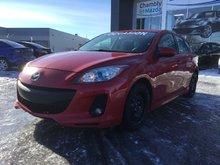 Mazda Mazda3 GS-SKY, SIÈGES CHAUFFANTS, BLUETOOTH, A/C 2012 JAMAIS ACCIDENTÉ, UN SEUL PROPRIÉTAIRE, SEULEMENT 67000 KM