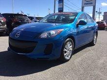 Mazda Mazda3 GS-SKY, JAMAIS ACCIDENTÉ. UN SEUL PROPRIÉTAIRE 2013 BAS KILOMÉTRAGE, A/C, BLUETOOTH, SIÈGES AVANT CHAUFFANT