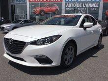 Mazda Mazda3 BAS KM, JAMAIS ACCIDENTÉ, UN SEUL PROPRIÉTAIRE 2014 AC, BLUETOOTH, COMMANDE VOCAL AU VOLANT