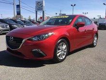 Mazda Mazda3 GS-SKY, SIEGES CHAUFFANTS, BLUETOOTH, CAMERA, A/C 2014 UN SEUL PROPRIÉTAIRE