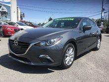 Mazda Mazda3 GS-SKY, BLUETOOTH, CAMERA, A/C, MAGS, RÉGULATEUR 2014 JAMAIS ACCIDENTÉ