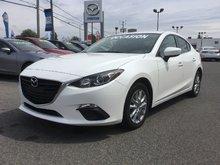Mazda Mazda3 **RÉSERVÉ**GS-SKY, SIEGES CHAUFFANTS, MAGS, CAMERA 2014 JAMAIS ACCIDENTÉ