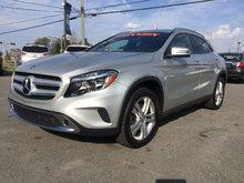 Mercedes-Benz GLA GLA 250,JAMAIS ACCIDENTÉ 2016 A/C BI-ZONE,CAMÉRA DE RECULE, MAGS 18 POUCES,