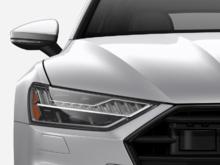 2019 Audi A7 3.0T Technik quattro 7sp S Tronic Silver Exterior, Black Interior, 335 HP