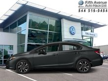2015 Honda Civic Sedan EX  - Bluetooth -  Heated Seats - $114.16 B/W