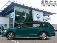 2019 Volkswagen GOLF SPORTWAGEN Highline Manual 4MOTION