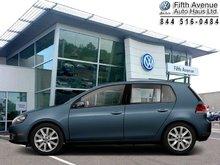 2012 Volkswagen Golf 2.0 TDI Highline  - Sunroof - $153.43 B/W