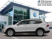2018 Volkswagen Tiguan Comfortline 4MOTION  - $242.90 B/W