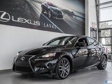 2015 Lexus IS 250 F-Sport 2-Navigation-BSM-Sièges chauffants