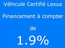 Lexus IS 300 AWD / Certifié Lexus / Taux à compter de 1.9% 2017