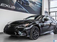 2018 Lexus RC Black Edition / Taux à compter de 1.9%