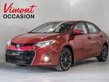 2015 Toyota Corolla 2015+S+TOIT+MAGS+AILERON+CAMERA+SIEGES CHAUFFANTS