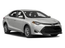 2017 Toyota Corolla LE CAMÉRA DE RECUL SIÈGES CHAUFFANTS