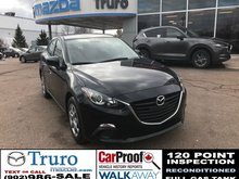 2015 Mazda Mazda3 ONLY 38,000KMS! UNLIMITED KM WARRANTY! AUTOMATIC ONLY 38,000KMS! UNLIMITED KM WARRANTY! AUTOMATIC!