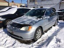 2003 Honda Civic Sdn VEHICLE SOLD AS-IS!!! LX - MANUAL!!!