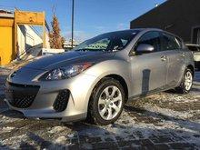 2013 Mazda Mazda3 GX, CARPROOF VERIFIED